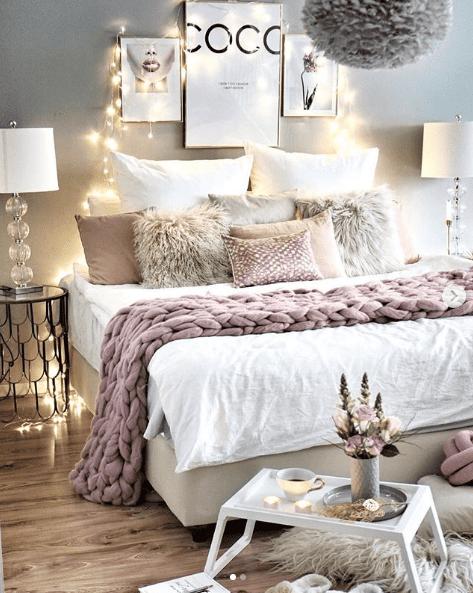 Das richtige Licht spielt im Schlafzimmer eine große Rolle ...