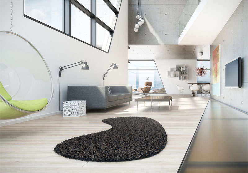 Der Teppich als Hingucker im Raum
