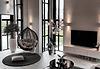 In modernen Neubauten sind hohe Decken oft mit Galerien verbunden