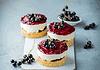 Dessert mit Cassis und Mascarpone