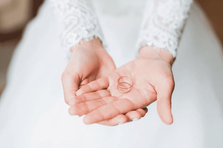 Ohne Hochzeitsringe geht es nicht