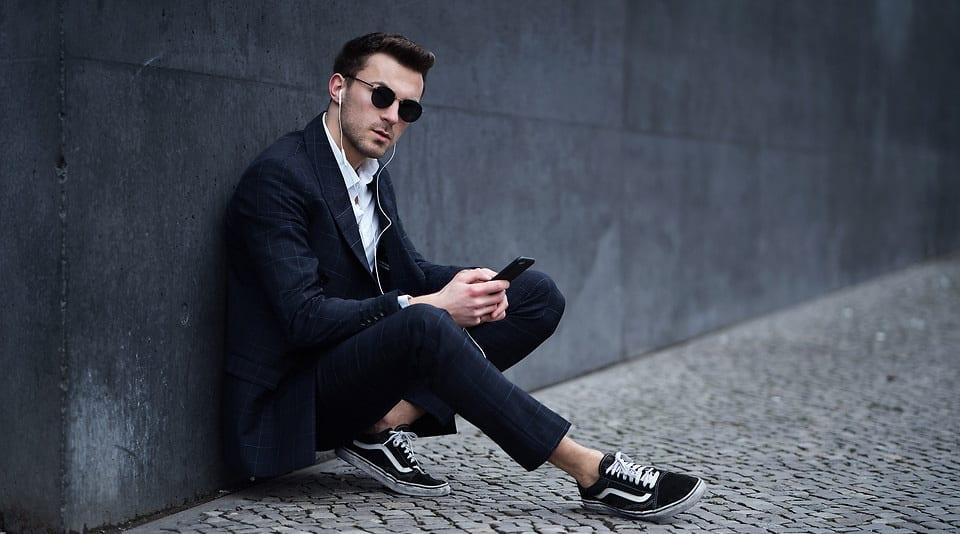 Moderner Männer Business Style