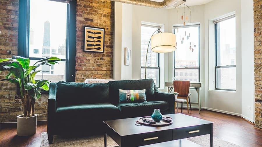 Möbel in besonderen Farben sind immer ein Hingucker
