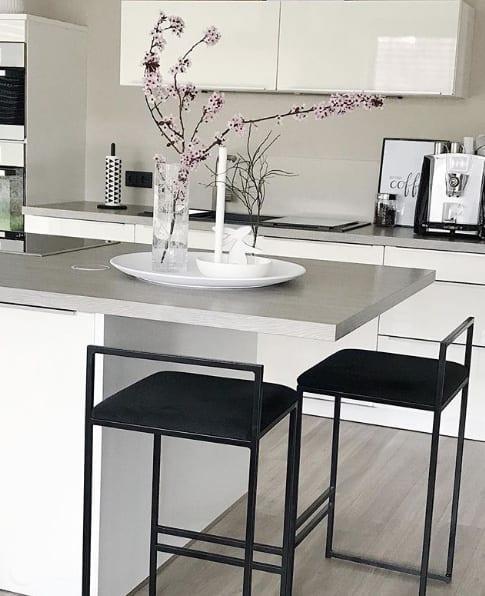 Sitzmöglichkeit an der Kücheninsel
