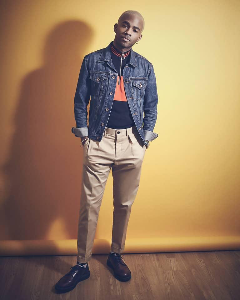 Jeansjacke zur Chino