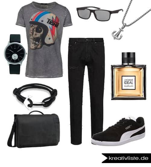 Lässiges Outfit für den mann