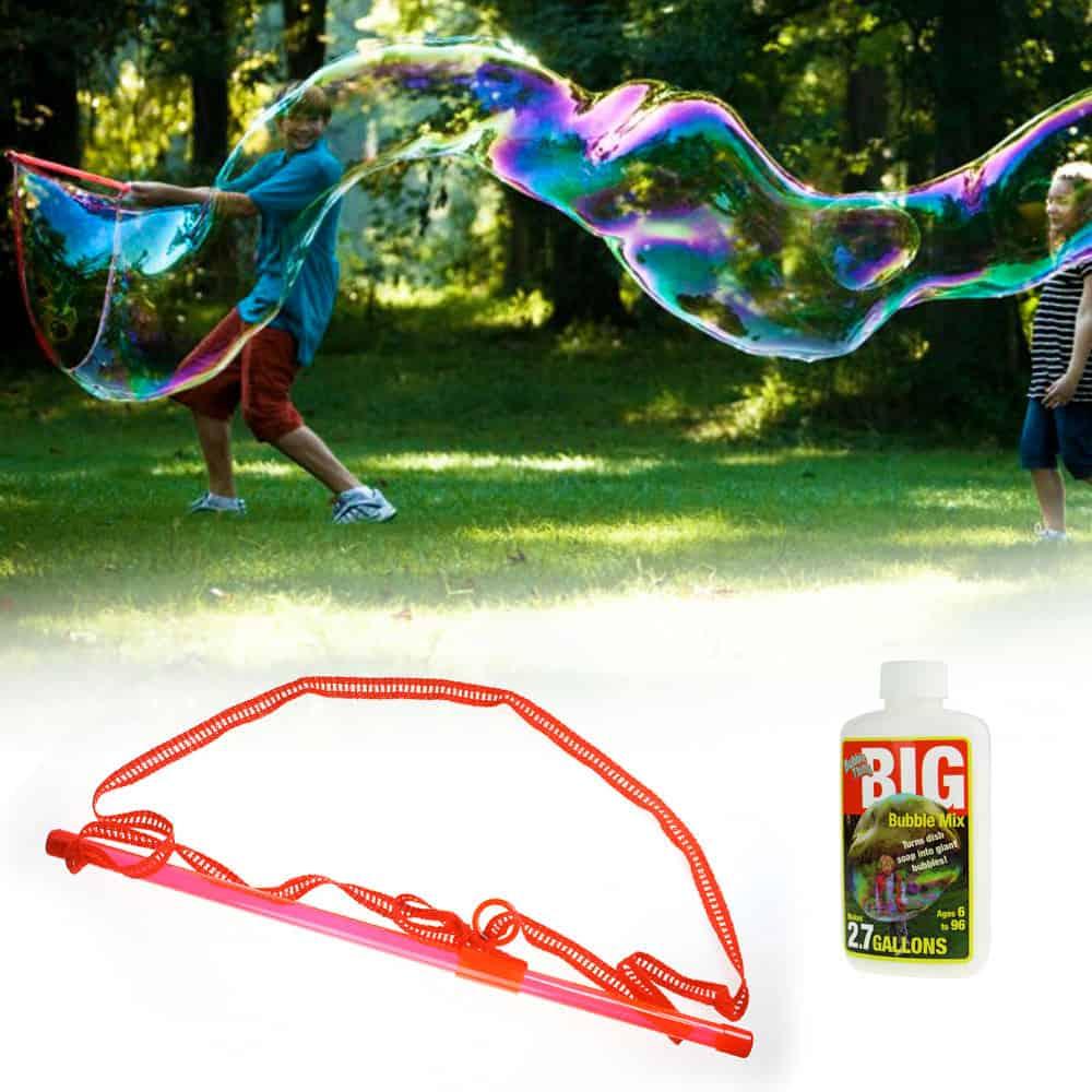 Riesen Seifenblasen selber machen