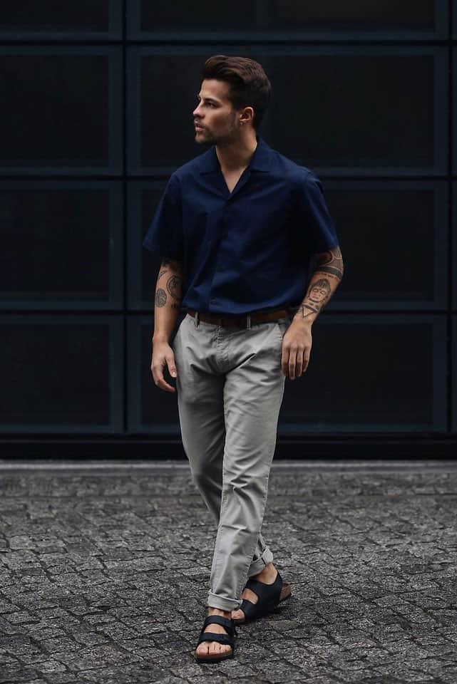Auch Männer können Sandalen tragen