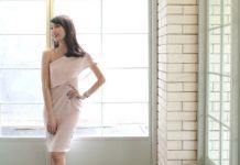 Der One-Shoulder-Dress ist auch für feierliche Anlässe wunderschön