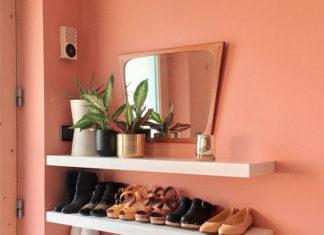 Wandboards als Möglichkeit der modernen Schuhaufbewahrung