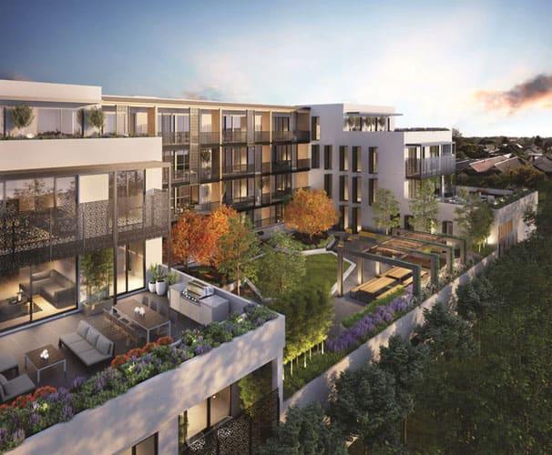 Moderne Wohnkomplexe sind beliebt