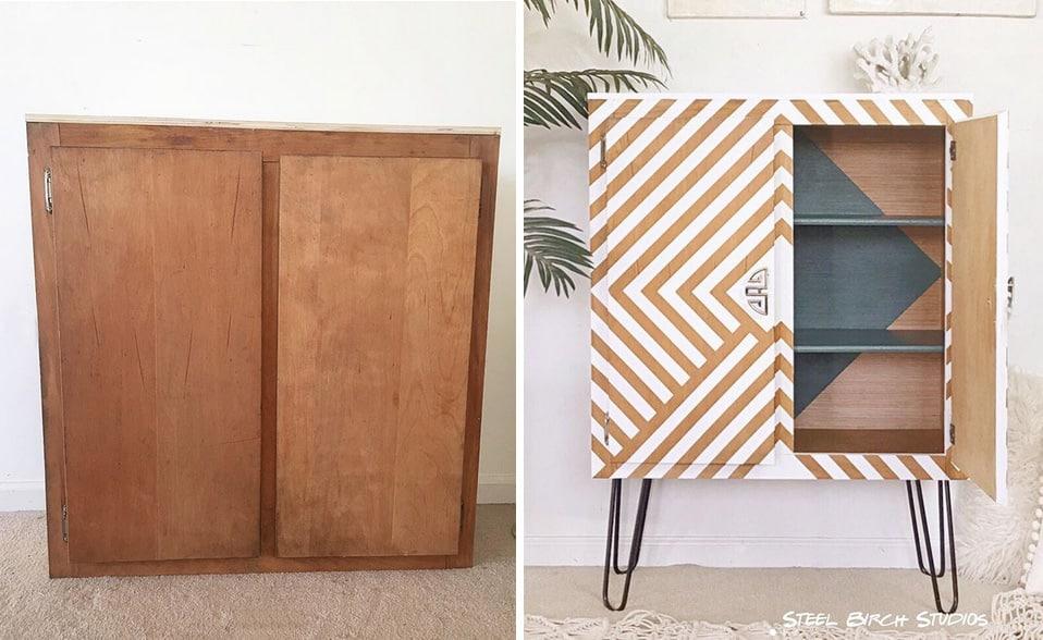 Alte Möbel neu gestalten mit einem modernen Farbanstrich